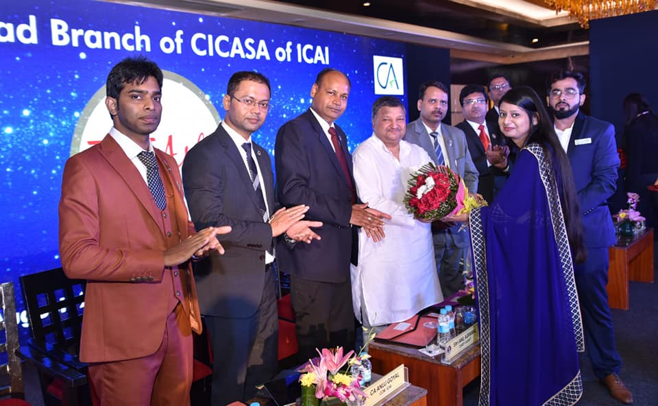 CA Student's Conference, With Dr. Anil Agarwal ji, Member of Parliament